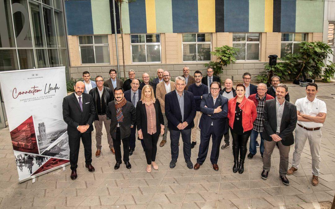 Connectem Lleida es presenta per liderar la Cambra de Comerç de Lleida