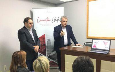 Primers actes de la campanya. AP! Lleida, Enci Wok i assoc. d'empresaris Balaguer 2021
